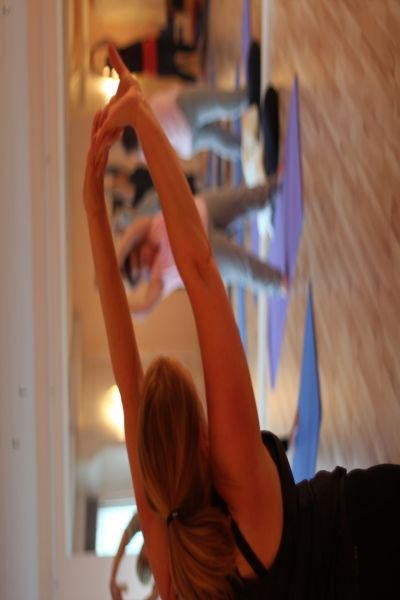 Hatha yoga och avslappning
