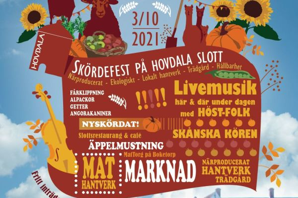 Skördefest på Hovdala!
