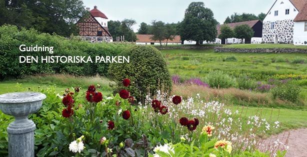 Årets guidningar - Den historiska parken