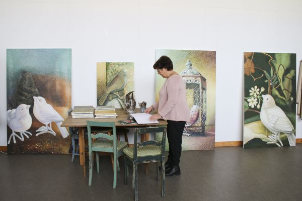 Utställning: Ingrid Ohrberg – Alla fåglar kan inte flyga - Pågår 11/9 - 13/11 2021