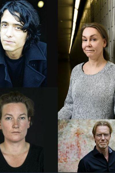 Jonas Hassen Khemiri, Maja Lundgren, Agnes Lidbeck, Anders Roslund