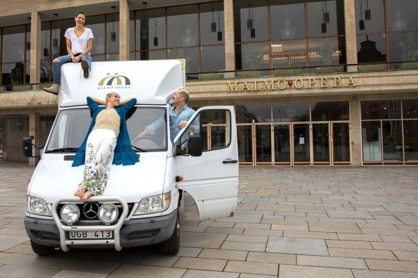 Malmö Opera på lastbil – en musikalkonsert