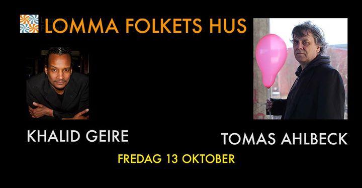 Lomma Standup Presenterar Tomas Ahlbeck & Khalid Geire