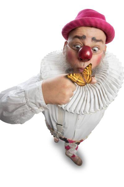 INSTÄLLT. Nalle Clown