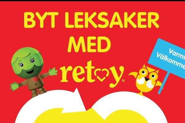 Byt leksaker med Retoy på Bjärreds bibliotek