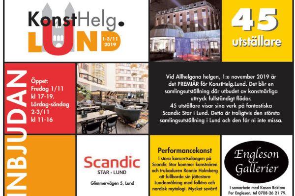 KonstHelg.Lund på Scandic Star hotel