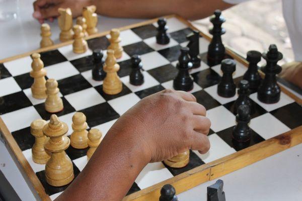 Börja Spela Schack Barn