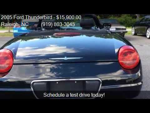 2005 Ford Thunderbird Deluxe 2dr Convertible For Sale In Ral Malmö