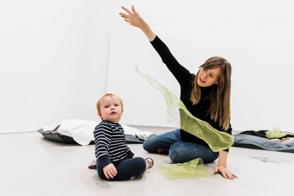 Babyworkshop: Jag rör mig, jag lär mig!